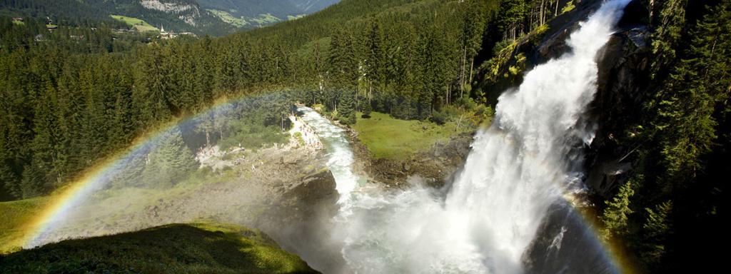 Ausflugsziele vom Bleiwanghof aus: Krimmler Wasserfälle