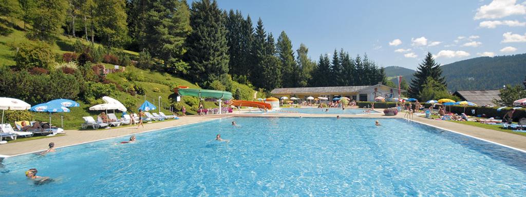Ausflugsziele vom Bleiwanghof aus: Schwimmbad Radstadt
