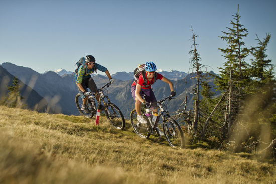 Sommerurlaub im Salzburger Land - Mountainbiken
