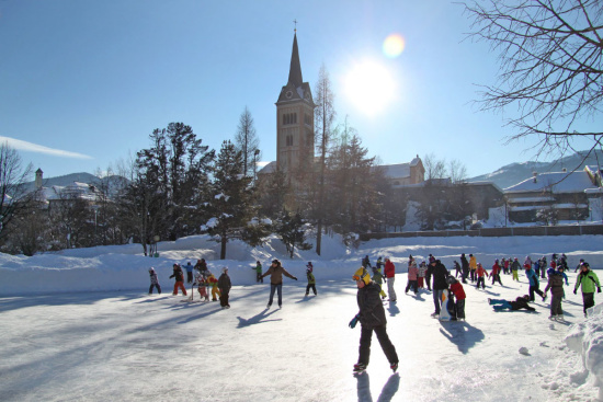 Winterurlaub in Radstadt - Eislaufen